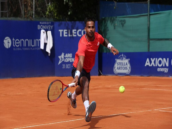 Indian tennis player Sumit Nagal (Photo/ ATP Tour Twitter)