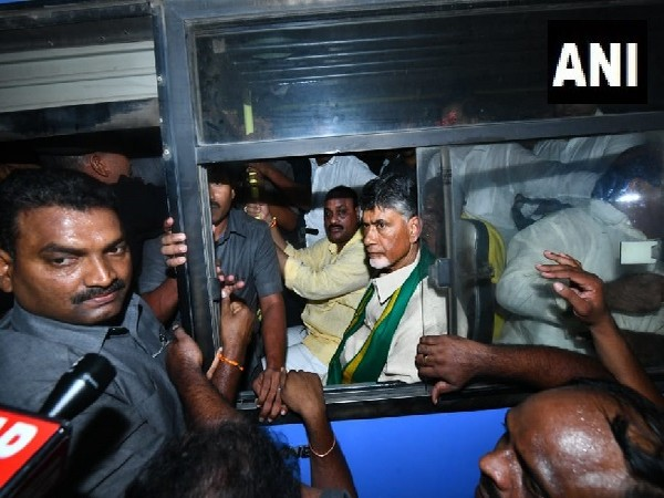 TDP chief N Chandrababu Naidu detained by police on Wednesday.