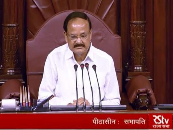 Rajya Sabha Chairman M Venkaiah Naidu (Photo/RS TV)