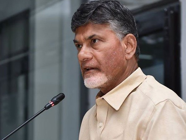 File picture of TDP chief N Chandrababu Naidu