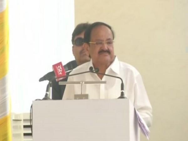 Vice President Venkaiah Naidu speaking at inaguration of a hospital at Chennai on Sunday