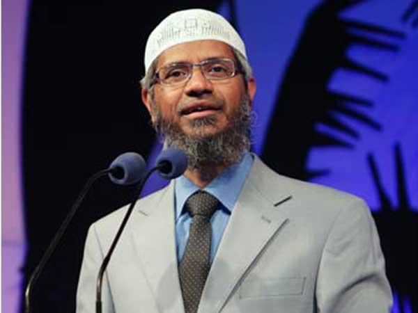 Controversial Islamic preacher Zakir Naik (File photo)