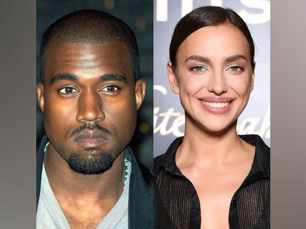 Kanye West and Irina Shayk (Image source: Instagram)