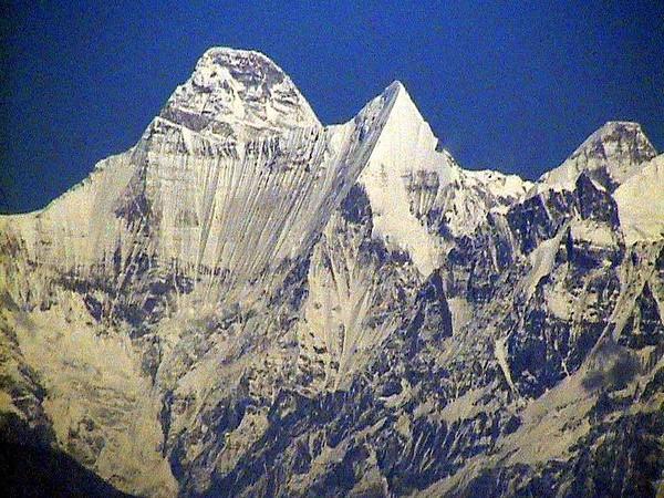 Nanda devi mountains. File photo/ANI