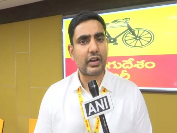 Telugu Desam Party (TDP) General Secretary Nara Lokesh (File Photo/ANI)