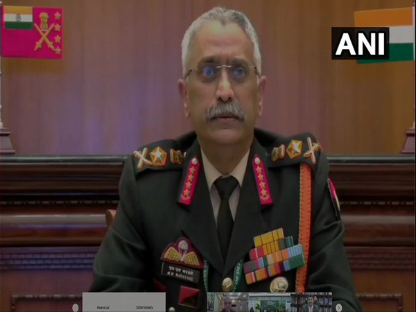 Army chief General Manoj Mukund Naravane. (Photo/ANI)