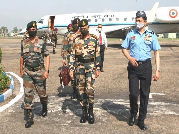 Army Chief General MM Naravane arrives in Jammu to take stock of preparedness.