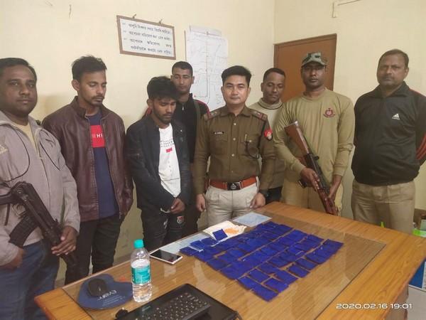 2 drug peddlers arrested in Assam. Photo/ANI