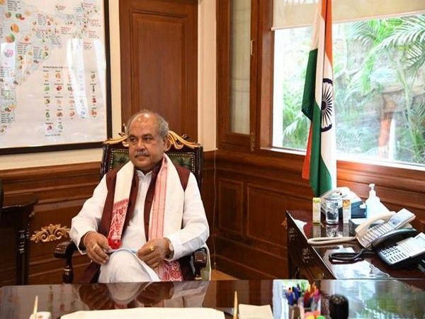 Union Minister of Agriculture and Farmers' Welfare, Narendra Singh Tomar (file photo)