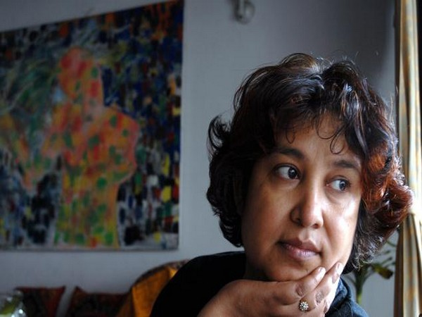 Exiled Bangladeshi author Taslima Nasreen. (File photo)