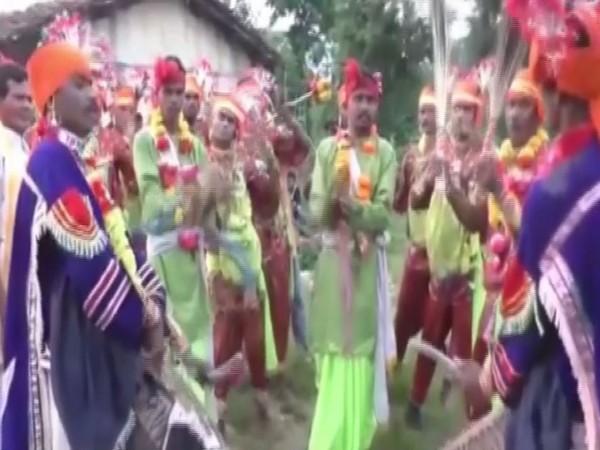 Nuakhai was celebrated with traditional fervour in Kalahandi Odisha on Sunday