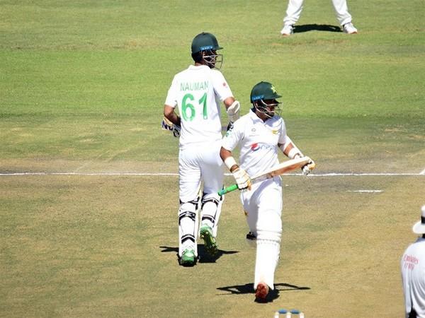 Nauman Ali and Abid Ali in action against Zimbabwe. (Image: ICC)