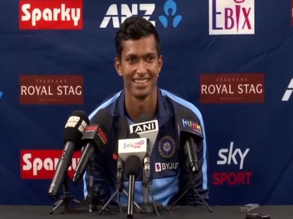 Fast bowler Navdeep Saini