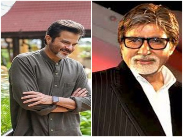 Anil Kapoor and Amitabh Bachchan, Picture courtesy: Instagram