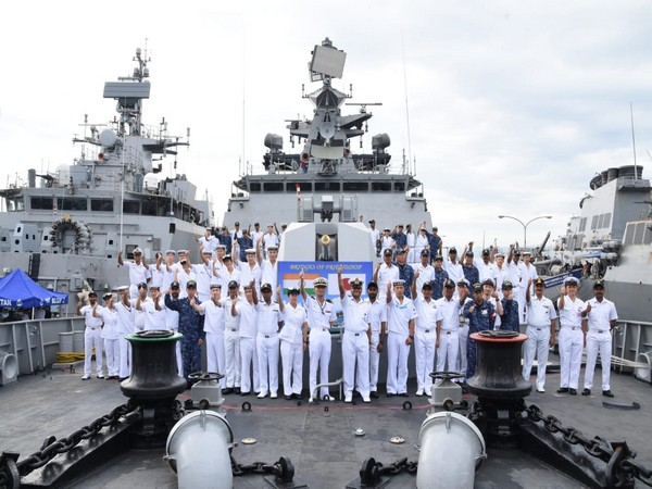 Pre sail conference, final briefing held prior to commencement of sea phase exercise Malabar.