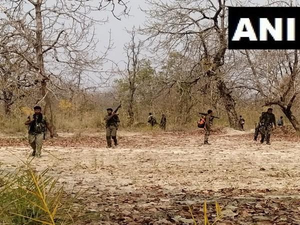Visual from the Naxal attack site in Chhattisgarh's Bijapur. (Photo/ANI)