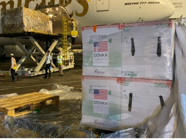 Bangladesh receives first consignment of the COVID-19 vaccine doses from US (Photo Credit: Twitter/ Earl R. Miller)