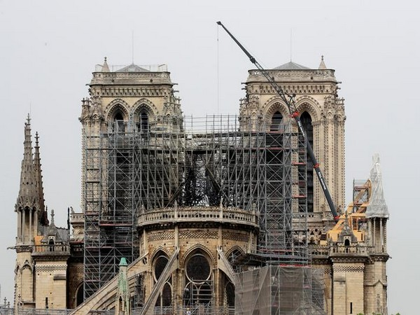 The damaged Notre Dame Cathedral in Paris, France (Photo/Reuters)