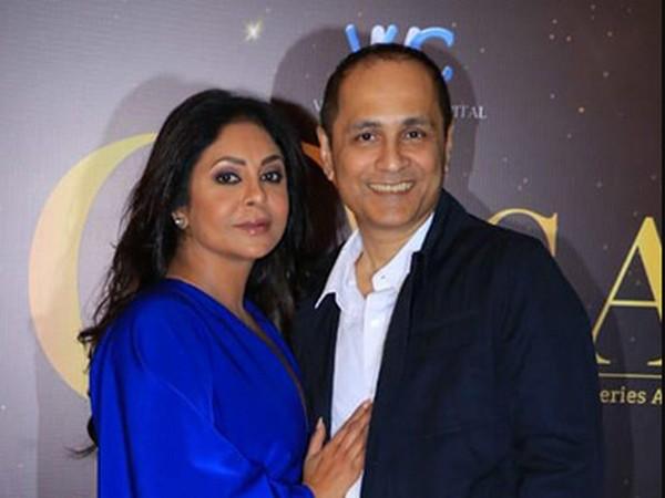 Shefali Shah with husband Vipul Shah (Image Source: Instagram)