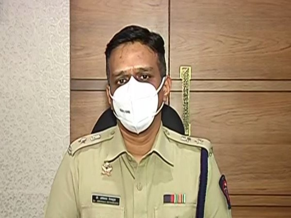 Abhinav Deshmukh, Superintendent of Police (SP), Pune Rural Police (Photo: ANI)