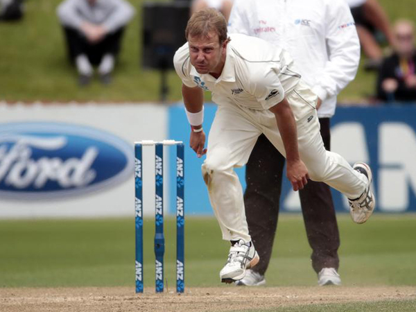 New Zealand's fast bowler Neil Wagner
