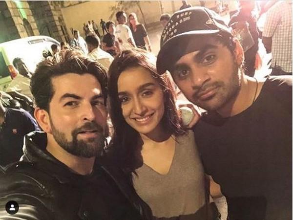 Neil Nitin Mukesh, Shraddha Kapoor, Sujeeth (picture: Instagram)