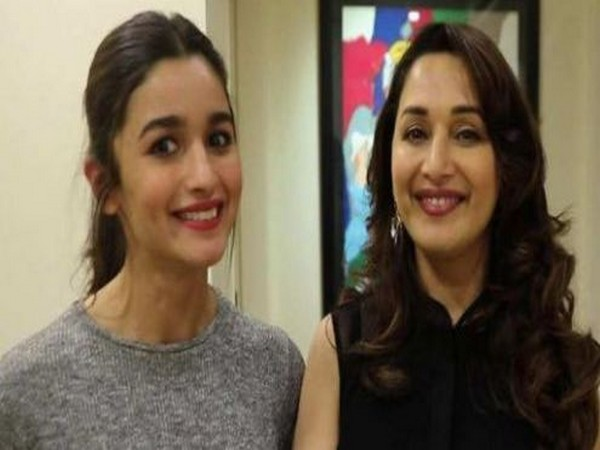 Dixit took to Twitter and posted a lively picture of herself posing with the birthday girl (Picture Courtesy: Twitter)