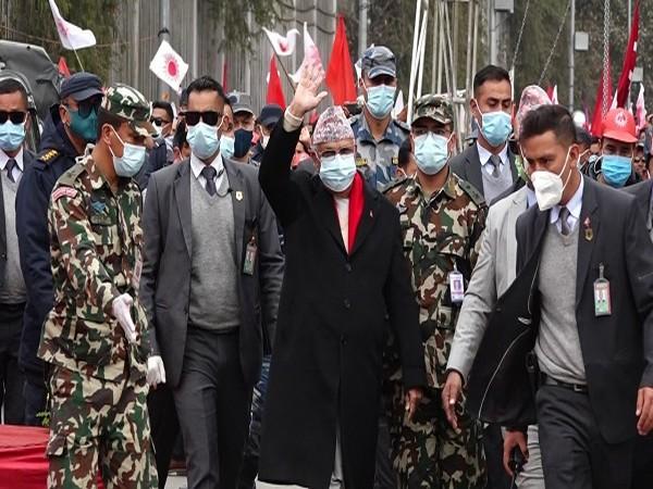Nepal Prime Minister KP Sharma Oli (ANI)