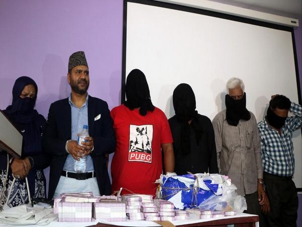The arrested individuals in Kathmandu, Nepal (Photo/ANI)