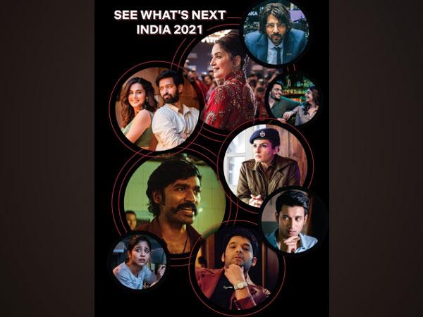 Netlix 2021 slated films