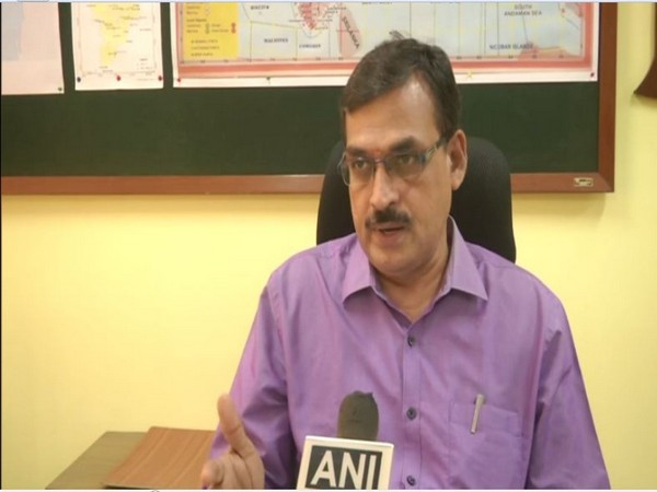Director at Chennai's Meteorological Department, Dr S Balachandran. (Photo/ANI)