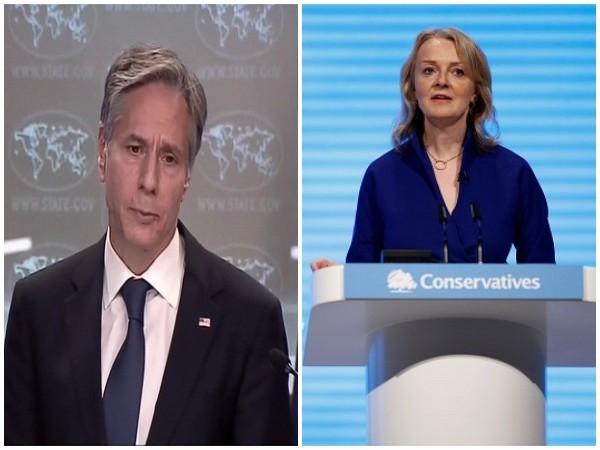 US Secretary of State Antony Blinken spoke with UK Foreign Secretary Elizabeth Truss.