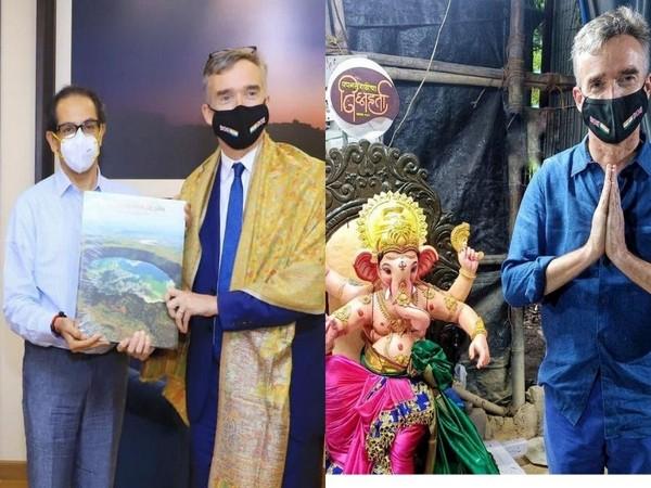 UK High Commissioner to India Alex Ellis during his visit to Mumbai.
