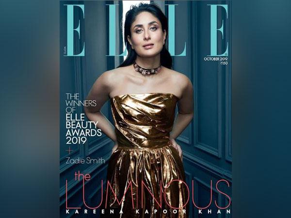 Kareena Kapoor Khan on ?Elle' magazine's cover (Image Courtesy: Instagram)