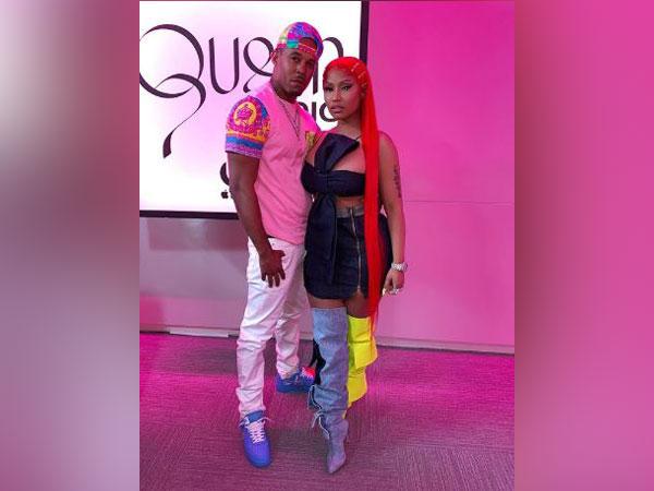 Kenneth Petty and Nicki Minaj, Image courtesy: Instagram