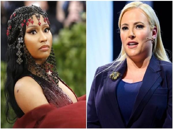 Nicki Minaj and Meghan McCain (Image source: Instagram)