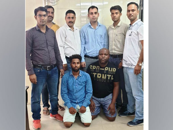 Arrested Nigerian national along with another accused in New Delhi