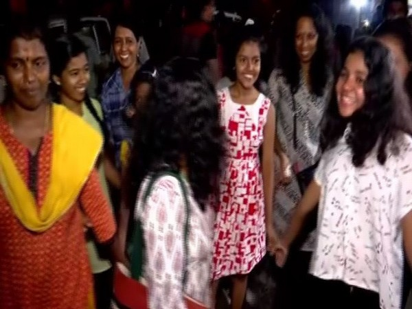 Women in Trivandrum participated in Night walk on Sunday