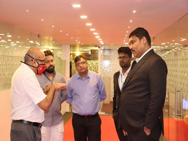 Niranjan Jayakumar, CEO of Manipal Education (MENA), at the Headquarters of CCERC.