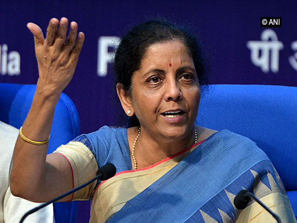 Finance Minister Nirmala Sitharaman in New Delhi on Friday. Photo/ANI