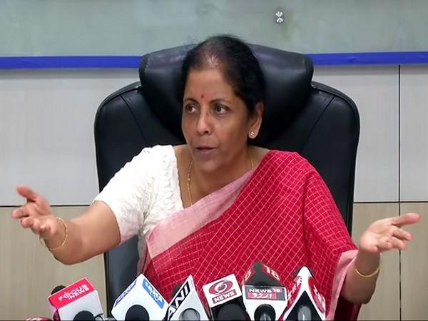 Nirmala Sitharaman [File Photo/ANI]