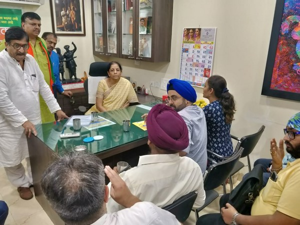 Union Finance Minister Nirmala Sitharaman met PMC Bank customers in Mumbai on Thursday