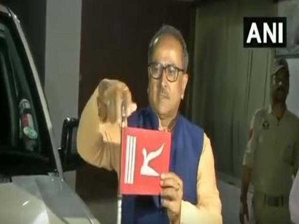 Nirmal Singh , former Deputy Chief Minister, J& K removed state flag from his vehicle