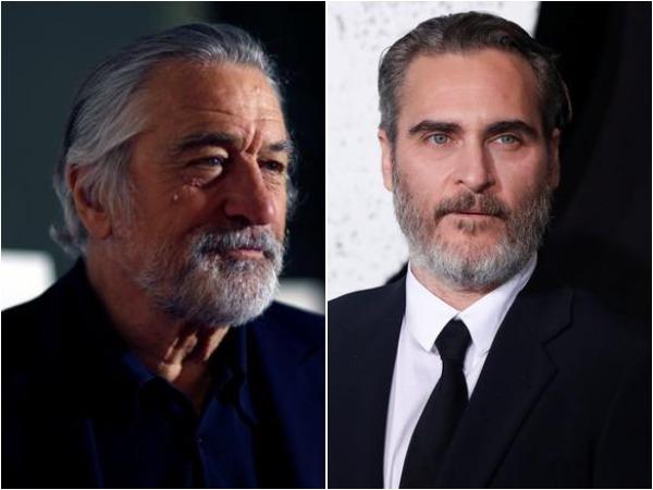 Robert De Niro and Joaquin Phoenix