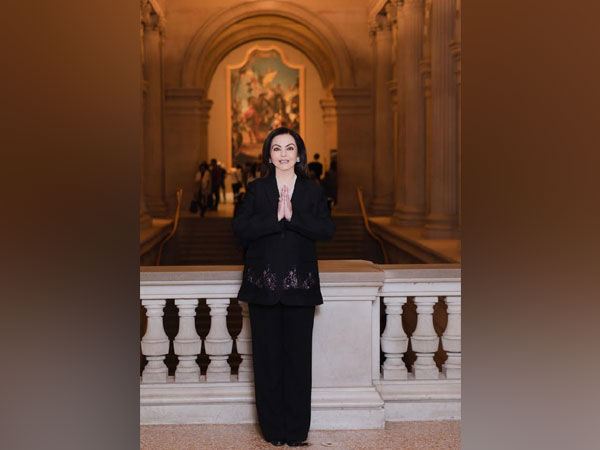 Nita Ambani Elected to the Board of The Metropolitan Museum of Art in New York city.