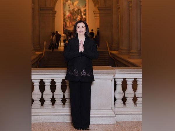 Nita Ambani elected to the board of The Metropolitan Museum of Art in New York city
