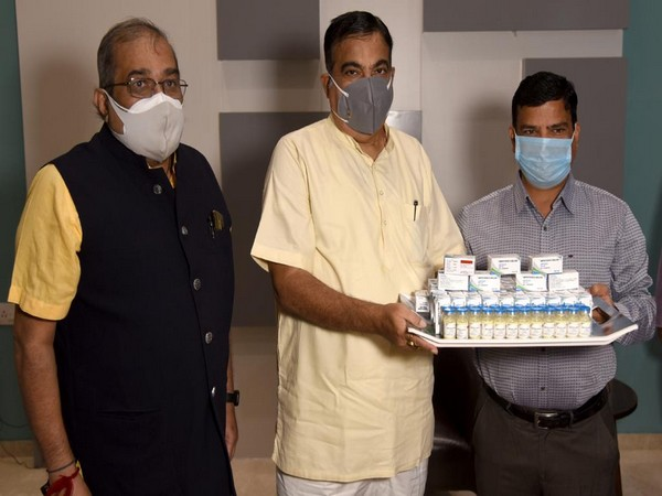 Maharashtra-based Genetic Life Sciences has begun manufacturing Amphotericin B Emulsion injections. (Image courtesy: @OfficeOfNG)