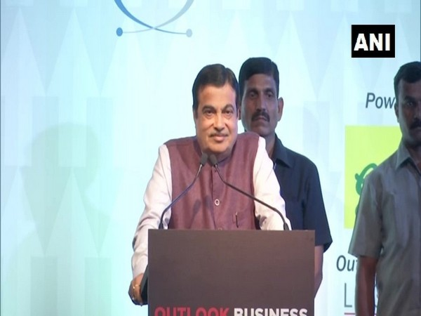 Union Minister Nitin Gadkari speaking at an event in Mumbai on Thursday