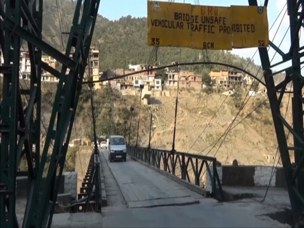 Old bailey suspension bridge at Ramban (Photo/ANI)