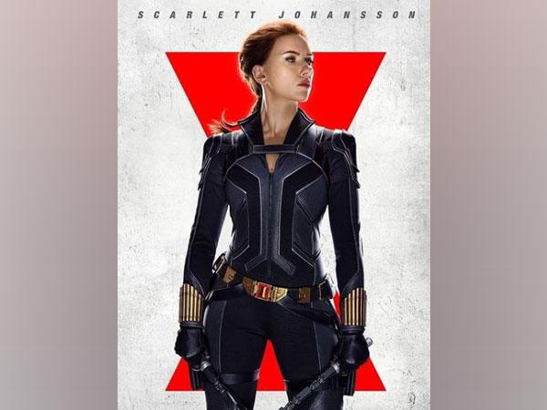Scarlett Johansson on the poster of Disney's 'Black Widow' (Image source: Instagram)